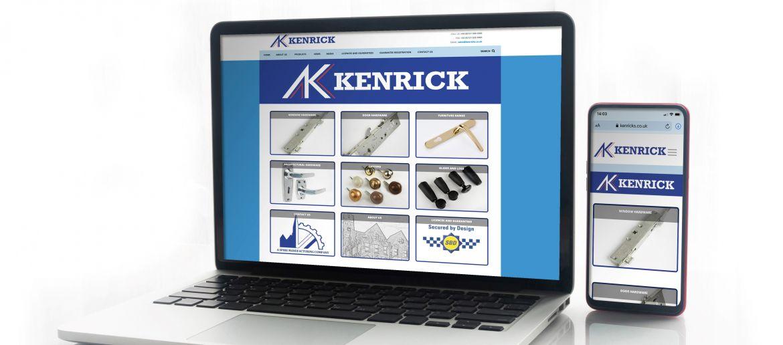 NEW KENRICK WEBSITE GOES LIVE